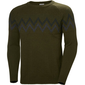 Helly Hansen Sweter Re-Wool Mężczyźni, forest night